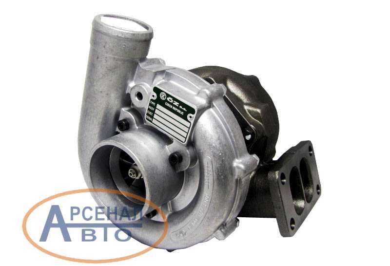 Турбокомпрессор для двигателей КамАЗ 740.30, 31, 50, 51 левый